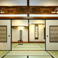 日本家屋/和風 時を得て成熟した和室の間をそのままに、照…