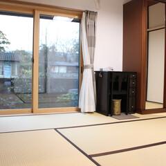 床暖房/サッシ/断熱 壁と窓の断熱をし、床暖を付けたことで暖か…