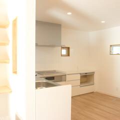 L型キッチン 【After】キッチンはL型タイプで家事…