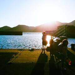 朝日/スクールボート/離島から/通学風景/第3回うちの子ベストショット 朝の登校風景  離島から学校のある陸続き…