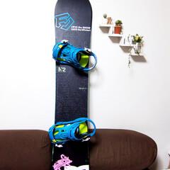 スノーボード/ボード/FLUX/ビンディング/K2/冬 かなり昔に、夫が新調したスノーボード一式…