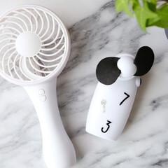 ダイソー/100均/雑貨/扇風機/ハンディ扇風機/モノトーン雑貨/... 「充電式 ハンディ扇風機」。 ダイソーで…