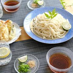 Arabia アラビア 24h Avec アベック プレート 26cm ブルー | イッタラ(皿)を使ったクチコミ「この夏、頻回にわが家の食卓に登場した「ざ…」(1枚目)