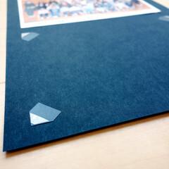 写真/集合写真/アルバム/フォトコーナー/写真整理/収納/... 「フォトコーナー」という商品。 三角の、…(1枚目)