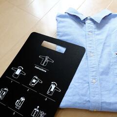 キャンドゥ/100均/雑貨/生活雑貨/衣類 キャンドゥで買った「衣類折り畳み用プレー…