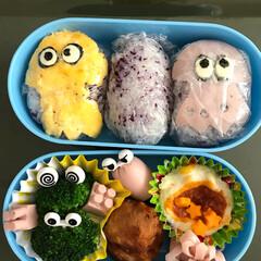 スプラトゥーン/授業参観日/お弁当 夜勤明けに、急いでお弁当作り🍱 お昼ご飯…