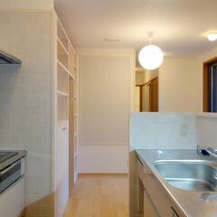 キッチン/リフォーム/タイル/IH/掲示板/Ⅰ型 キッチンは、シンクと調理台を設けたカウン…