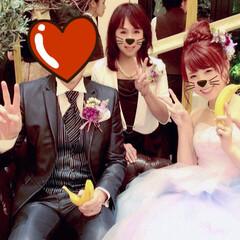 晴れの日/娘の結婚式/色打ち掛け/ウエディングドレス/ブーケ/ブートニア/... 先月末に 三女の結婚式💒でした😊✨ その…(3枚目)