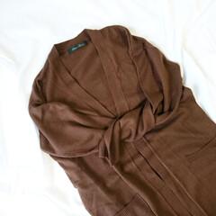 ロングカーディガン/秋ファッション/プチプラ/しまパト/しまむらパトロール/しまむら しまむらのロングカーディガン😍🎵 丈もサ…