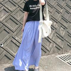 ママファッション/カジュアルコーデ/プチプラ高見え/プチプラ/ロゴT/GU/... GUのグラフィックT\( ⍢ )/  プ…