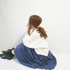 プチプラコーデ/低身長コーデ/ゆるコーデ/ニットカーディガン/着回しコーデ/秋ファッション ノースリワンピ×ニットカーディガン⭐  …