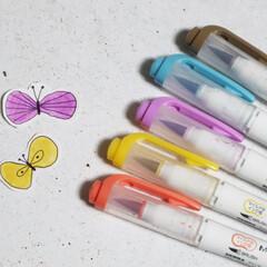 文房具/ペン/マーカー/手帳/ノート作り マイルドライナーの新作、筆ペンタイプのブ…