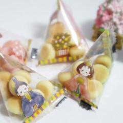 カルディ/ひなまつり/おひなさま/お菓子/季節行事/春 カルディで見つけた、ひなまつりぼうろ。 …