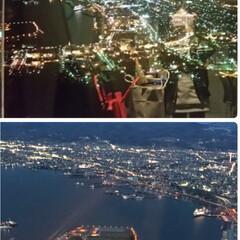 函館山/夜景 函館山山頂レストランVIP roomから…