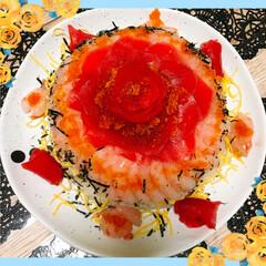 ちらし寿司/父の日/おうちごはん 父の日なので、ちらし寿司でいっか…と、丁…