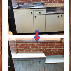 DIY/100均/ダイソー/キッチン 事務所にある、流し台を使用する事がなくな…(1枚目)