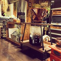 コーヒータイム/おうちカフェ/男前インテリア/インダストリアル/ビーカー/ハリオ/... カリタのドリッパーと、 ハリオのビーカー…