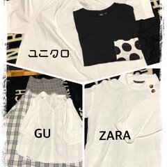 ZARA/ユニクロ/GU/ストレス ストレス溜まりまくりの私。 今日はお給料…(1枚目)