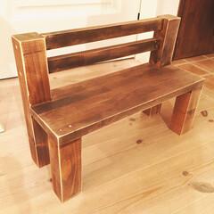 ベンチ/飾り用 小さなベンチ