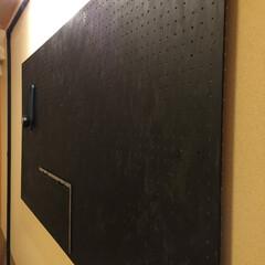 DIY/DIY工房/suzukuri/matrixconcet/マトリックスコンセプト/穴開規ボード/... 工具を壁に掛けられたら、かっこいいですよ…