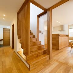 階段下/廊下/階段/キッチン/フォロー大歓迎/インテリア/... ■haus-slou■ 京都府宮津市 :…