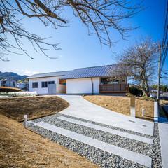 家造り/外観デザイン/外観/テラス/エクステリア/神戸/... 天気が良かったので午前中明るい面の外観を…