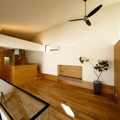 家/家づくり/マイホーム/新築戸建て/一戸建て/設計/... リビングには出っ張りのないTVボードがあ…