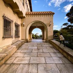 家族/文化財/ジェームス邸/外観/お出かけ/散歩/... 塩屋散歩のエンディングはジェームス邸のラ…