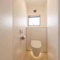 トイレ/リノベーション/設計事務所/デザイン/設計/家づくり/... ■re.haus-tn■ 壁、床への飛び…