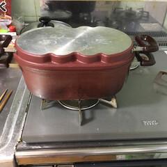 キッチン雑貨 蓋にはハートのホットケーキができるように…