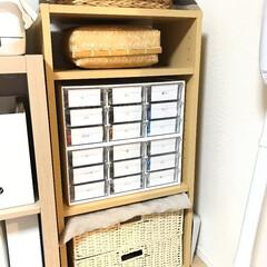 ニトリ/文房具収納/薬収納/収納分類ケース/整理収納 【ニトリ】文房具や救急箱を入れる収納ケー…