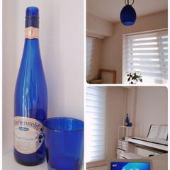 好きな色/おうちの美化委員/インテリア/部屋/青が好き/住まい/... 好きな色をポイント的に置いています。 朝…