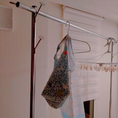 洗濯機/エコバッグ/洗濯/清潔/楽家事 エコバッグを洗濯機で洗ってみました。 い…