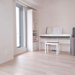 おうちの美化委員/趣味の部屋/ヨガマット/電子ピアノ/暮らし/掃除/... ストーブを片付けてスッキリ! ここは夫が…