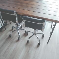 掃除/片付け/定位置管理/おうちの美化委員/パブリックスペース/ダイニング/... ダイニングテーブルには なんにも置かない…