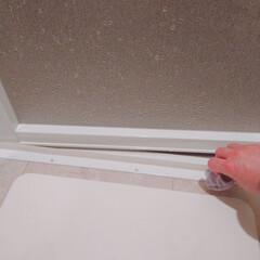 お風呂掃除/おうちの美化委員/掃除習慣/風呂/お風呂/お掃除/... 昨夜はお風呂ドアのサッシを拭きました。 …
