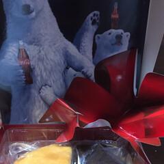 当選/リボンボトル/コカ コーラ クリスマスぐらいに  息子が買った コカ…