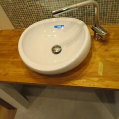 洗面台 自宅の洗面台がこんな感じだったらお洒落で…