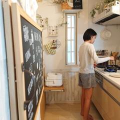 ハードチタニウム・プラス フライパン 20cm D51502   ティファール(フライパン)を使ったクチコミ「朝小6娘ちゃんは、自分で朝ごはん作ります…」(1枚目)