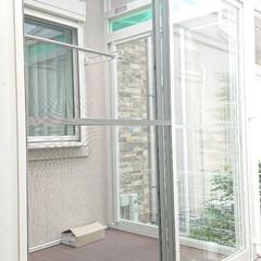 お庭/工事中/サンルーム/令和元年フォト投稿キャンペーン 昨日サンルームに窓&網戸がつきました👍は…