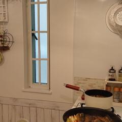 さばの味噌煮/キッチン/DIY/100均 今日の夕飯はさばの味噌煮作ってみました。…