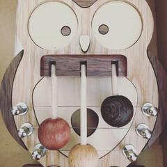 木製雑貨/ドアベル 幼稚園の役員会最後の日、園長先生から頂い…