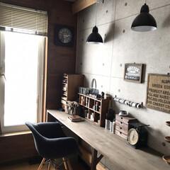 リミアな暮らし/ものづくり/アトリエスペース/インテリア/DIY/住まい ここは以前カフェコーナーでしたが、子供部…