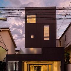 外観/建築/住まい/太陽光発電/オール電化/ZEH/... 駅前通りの家