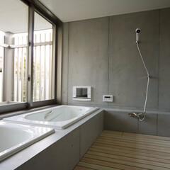 注文住宅/浴室・風呂/浴室/建築 『大林の家』浴室