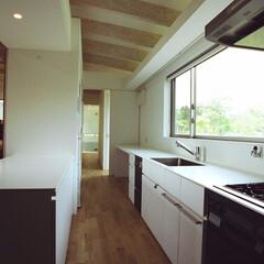 建築 『那須塩原の週末住宅』キッチン