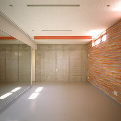 注文住宅/トレーニングルーム/ジム/建築 『大林の家』トレーニングルーム