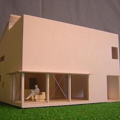 吹き抜け/視線の抜け/不動産・住宅/建築家/静岡県 大きな開口部と吹き抜けによって 水平方向…