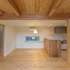 無垢の家/木の家/ローコスト住宅/2000万円以下/建築家/静岡 3-BOX ミニマムな住宅 LDK リビ…