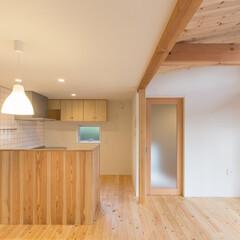 木の家/Jパネル/落ち着き/白/建築家/静岡/... 3-BOX ミニマムな住宅 LDK ダイ…